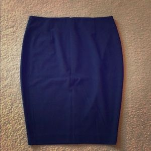 Victoria's Secret Navy Pencil Skirt